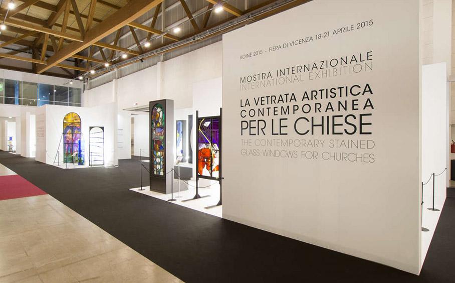 """Koinè Ricerca 2015, mostra """"La vetrata artistica contemporanea per le chiese"""""""