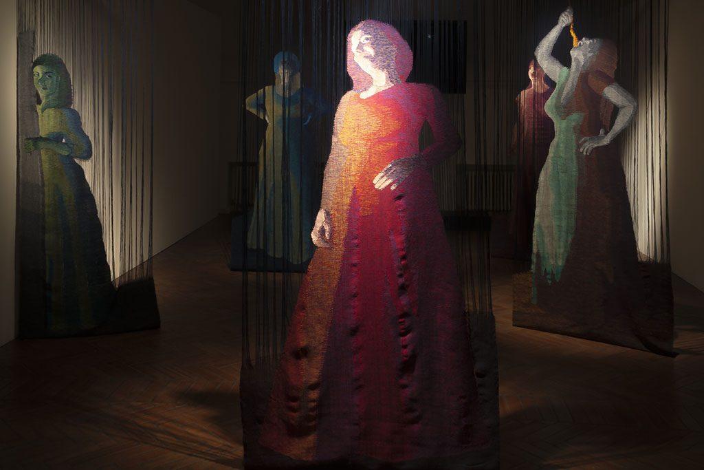 Opere di Teodolinda Caorlin a Palazzo Thiene Bonin Longare