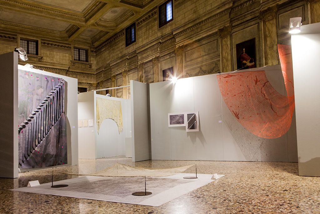 Opere di Wanda Zamichieli Casaril al Palazzo Vescovile di Vicenza