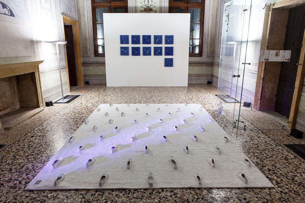 Opere di Luciana Costa Gianello a Palazzo Cordellina